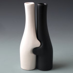 Buddy Vases White+Black