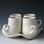 Design I Mug Set - White