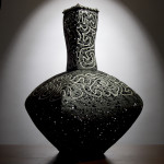 Black Porcelain Vessel